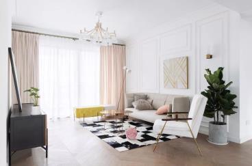 116㎡现代法式房, 融入浪漫与优雅的生活