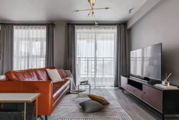 89㎡舒适北欧2室2厅 谱写生活的精致与浪漫
