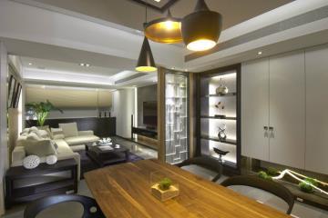 198㎡充满放松气氛 木质温馨简约复式住宅