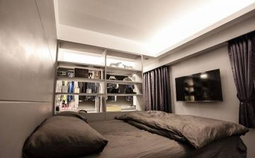 33㎡黑白风 极简公寓的别样精彩