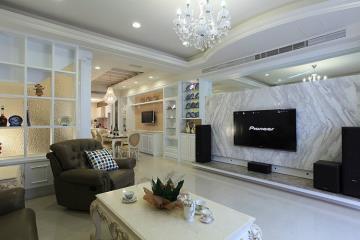 330㎡奢华大气家居氛围 新古典浪漫别墅住宅
