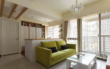 46㎡公寓简单温暖且自由