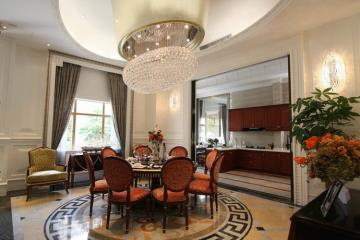 760㎡优雅与古典并存的别墅装修设计