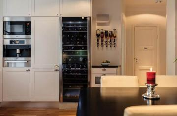 典雅混搭风格80平一居室装修案例