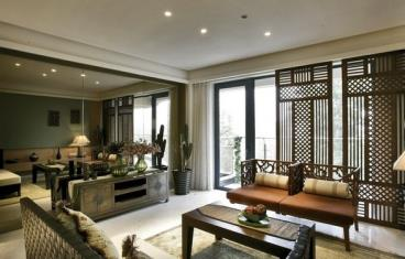 似曾相识的快感 东南亚风格设计住宅