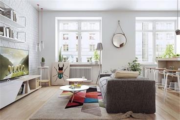 90后小夫妻30平小公寓完工,邻居组团参