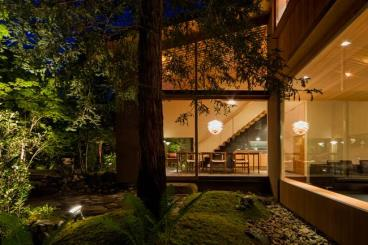与环境相辅相融 日本奈良的花园住宅