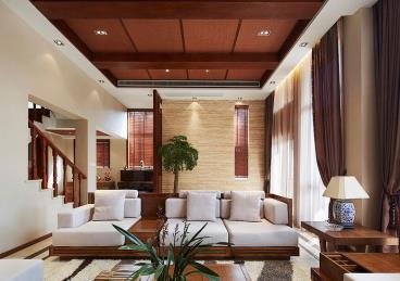 巴厘岛风情复式装修 感受热带的温暖