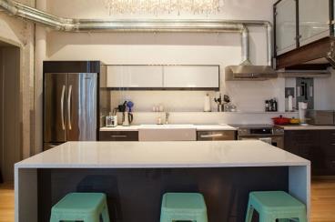 多伦多工业风格阁楼设计 粗狂细腻并存