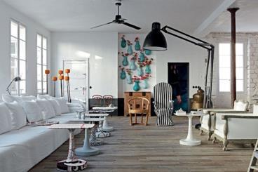 旧房改造 巴黎复古风格公寓