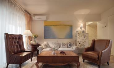 清新舒适欧式风格140平四居室