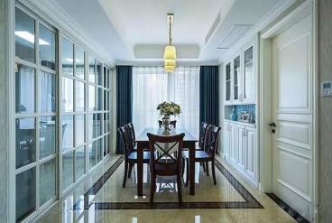 125㎡新中式风格三居室