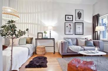 35㎡宜家风格单身公寓