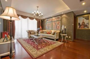 110㎡欧式风格三居室