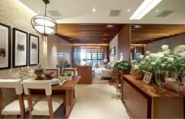 120㎡新中式风格三居室