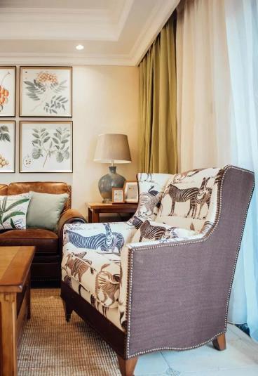 144㎡美式风格三居室