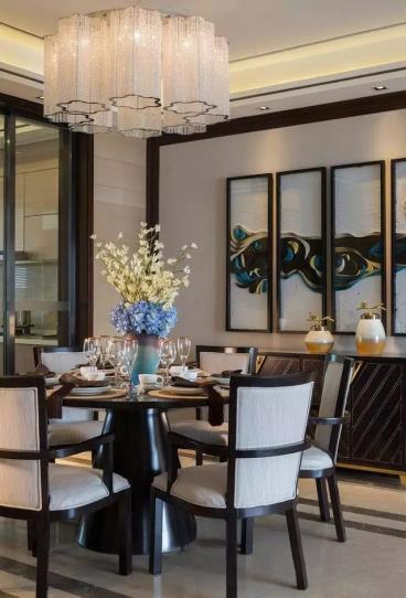 132㎡新中式风格三居室