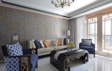 145㎡新中式风格三居室