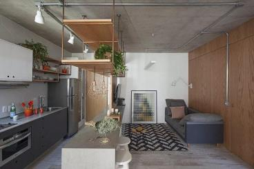 60㎡北欧风格小公寓