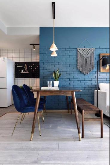 50㎡北欧风格单身公寓