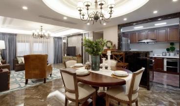 183㎡浪漫美式四居室