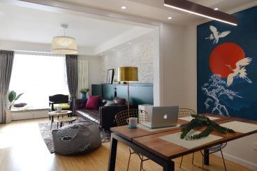 85㎡私人定制现代复古风两居室