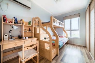 90㎡现代简约两居室