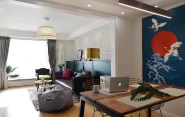 85㎡优雅复古风格两居室