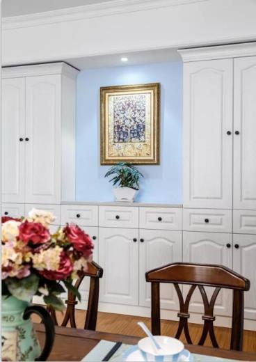 80㎡美式风格两居室