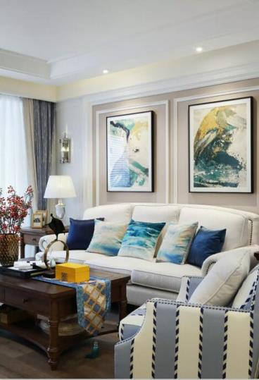 112㎡美式风格两居室