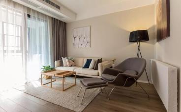 91㎡现代简约风格两居室