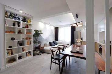 52㎡中式风格两室一厅