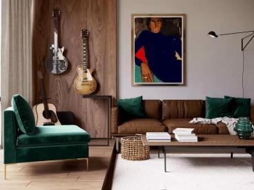 50㎡ 轻奢一室户,小家也有大设计