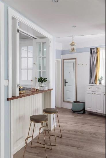 100㎡清新美式3室2厅 演绎优雅与浪漫的品质生活