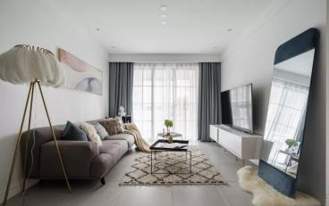 89㎡舒适北欧2室 轻盈优雅演绎质感生活